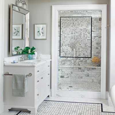 A light filled and detail rich colonial remodel vanities for Remodeling bathroom ideas older homes