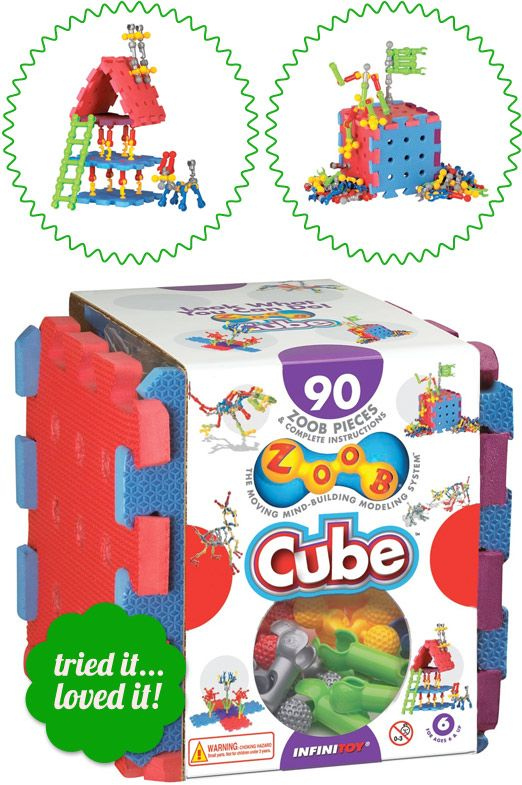 ZOOB Cube Construction Toys, Building Blocks