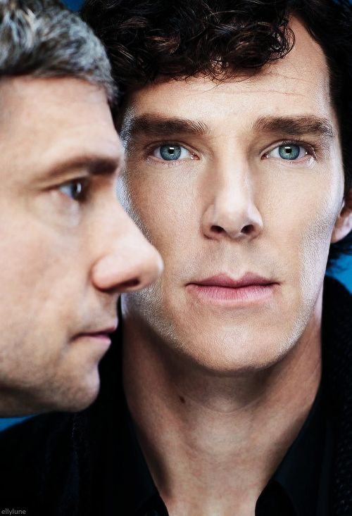 Sherlock & John from Entertainment Weekly.  http://www.pinterest.com/aggiedem/sherlock-addict/