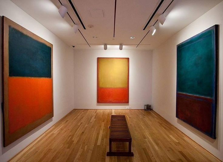 "💚💚💚  .  Repost @freudmonkgallery -  MARK ROTHKO.  ""The Rothko Room"" is part of the @phillipscollection.  It's now home to 4 Rothko paintings. #markrothko #rothko   #contemporaryart  #artwork  #contemporary  #love  #dailyart #artdaily  #photooftheday #color  #artoftheday #artshare #abstractart #abstractpainting"