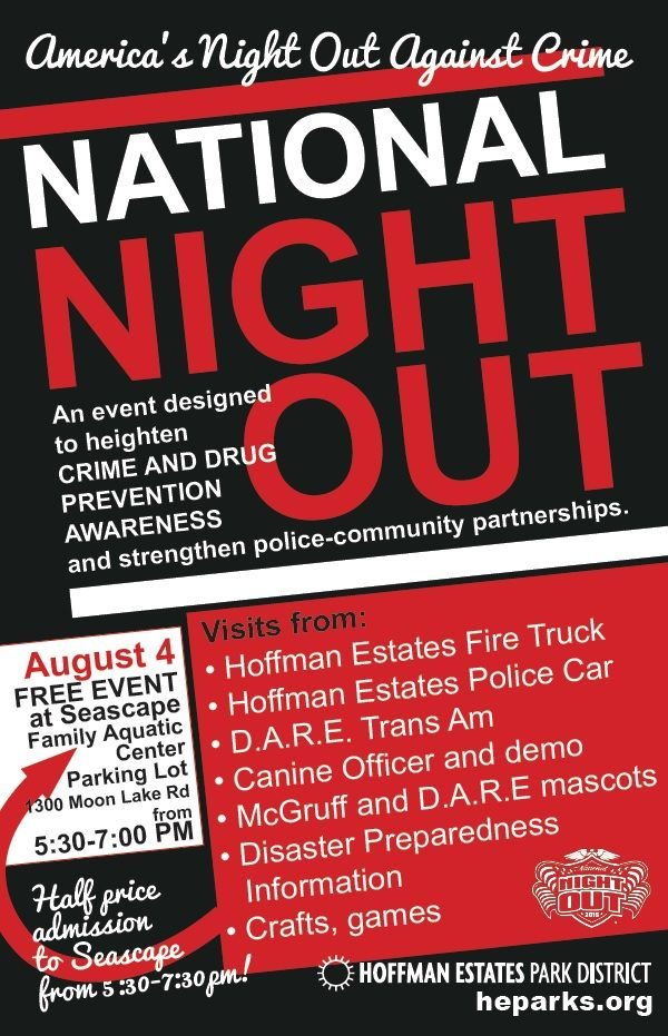 national night out in hoffman estates  il