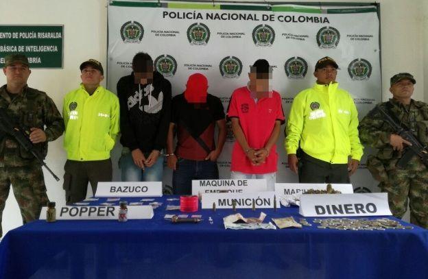 Ejército Nacional, se logró en las últimas hora desmantelar la banda de los brujos que delinquían en el municipio de Mistrató.