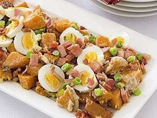 Warm kumara salad - Yahoo! New Zealand Food repinned by http://www.oliverestaurant.co.nz/