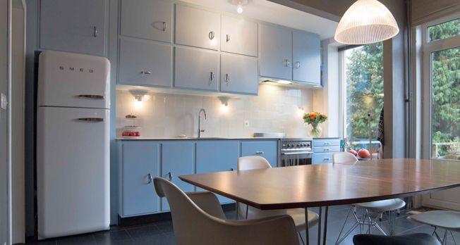 H t recept voor een fiftieskeuken keuken inrichten pinterest tes and vintage - Onderwerp deco design keuken ...