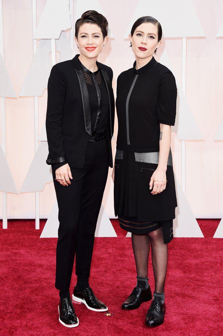 Pin for Later: Seht alle Stars bei den Oscars! Tegan und Sara