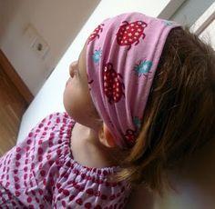 Tutorial: Gut sitzendes Haarband nähen #Haarband #Tutorial #Nähen