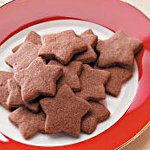Zimtsterne, a classic cookie from Switzerland.