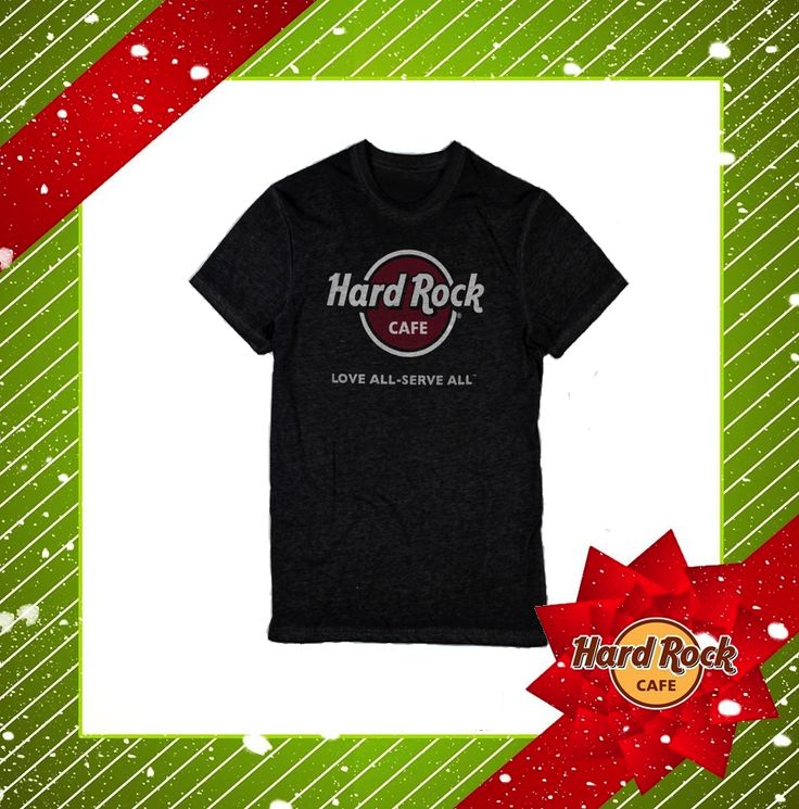 #Natale 2014: HRO YM #Burnout #Logo #Tee #Black #HardRock4Xmas #Shop #Gift
