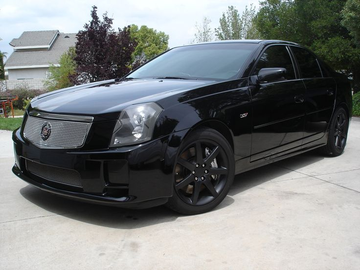 Cadillac 2005 cts blacked out - Google Search