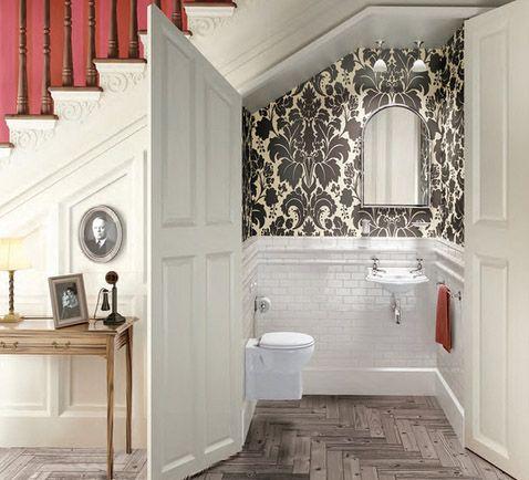 under-stairs toilet