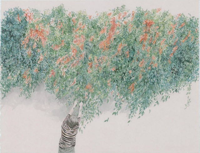 'one more hedge with feeling' by Monica Rohan, exhibiting at Spiro Grace Art Rooms (SGAR) 14 September — 13 October 2012
