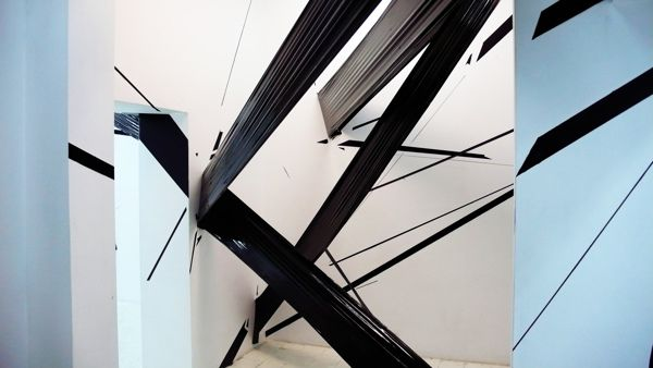 Installation 2014 MDS Gallery, Wrocław, Poland