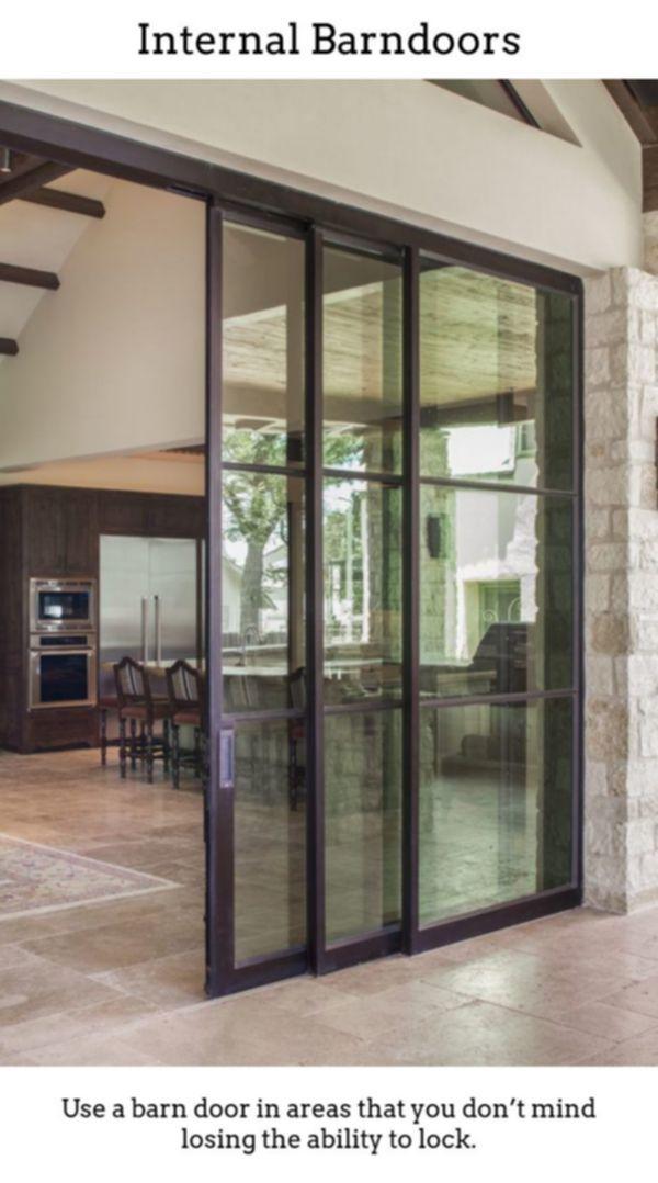 Interior Barndoors Gliding Barn Doors Aren T Just Meant For Countryside Barns Any More The Steel Doors And Windows Sliding Door Design Sliding Doors Interior