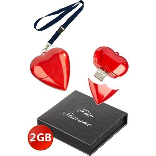 Pour MAMAN ! Coeur clé USB 2 Go | ideecadeau.ch