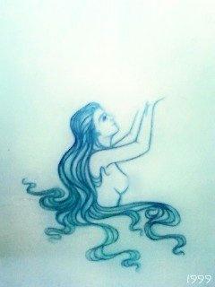 """Awakening"" Watercolor Pencil Crayon by Jolene Hachey"