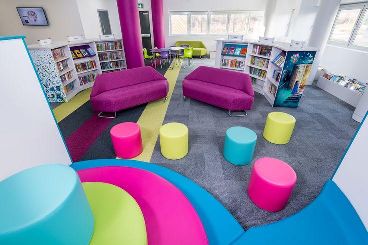 Milton Keynes Kingston Library | Demco Interiors - Inspiring Library Design
