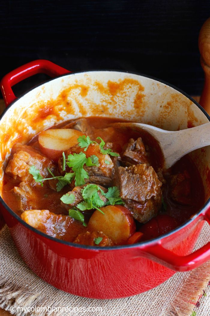 Beef Cheek Stew (Estofado de Cachetes de Res)