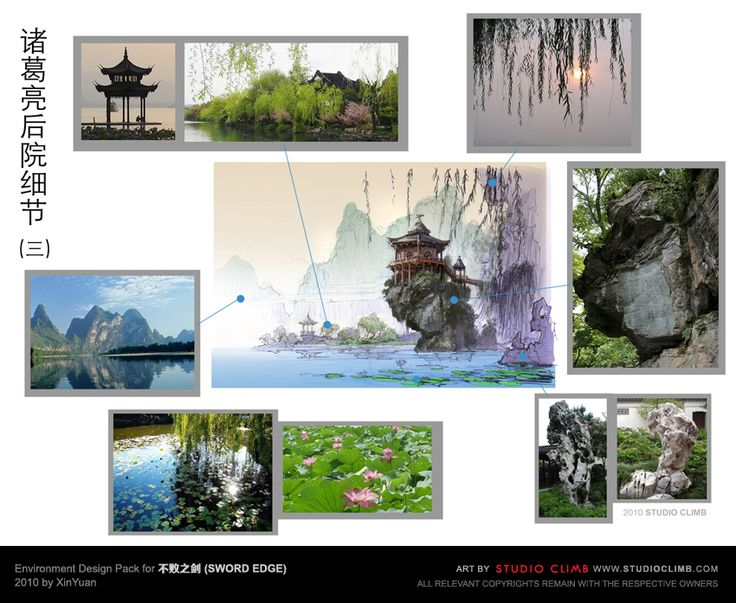 Environment Design Pack for 不败之剑 (Sword Edge)