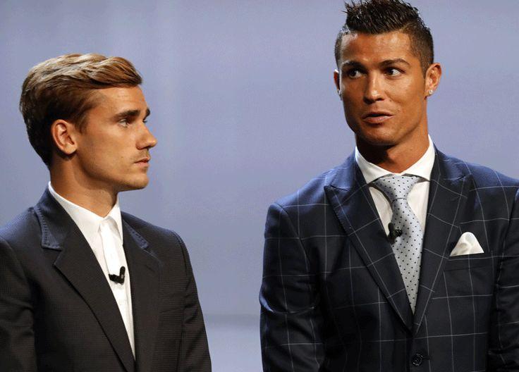Antoine Griezmann déteste Cristiano Ronaldo