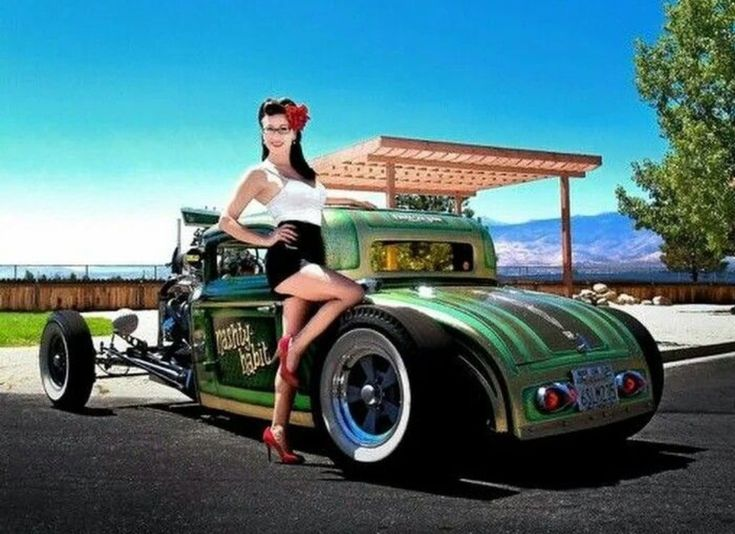 Hot rods and pimped girls — photo 11