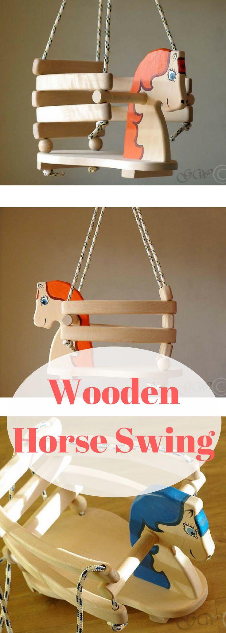 Wooden horse swing free patterns - Best 25 Wooden Baby Swing Ideas On Pinterest Outdoor Baby Swing Baby Swing Set And Kids Swing Set Ideas