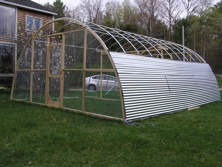 Our Hoop House Chicken Tractor Greener Living