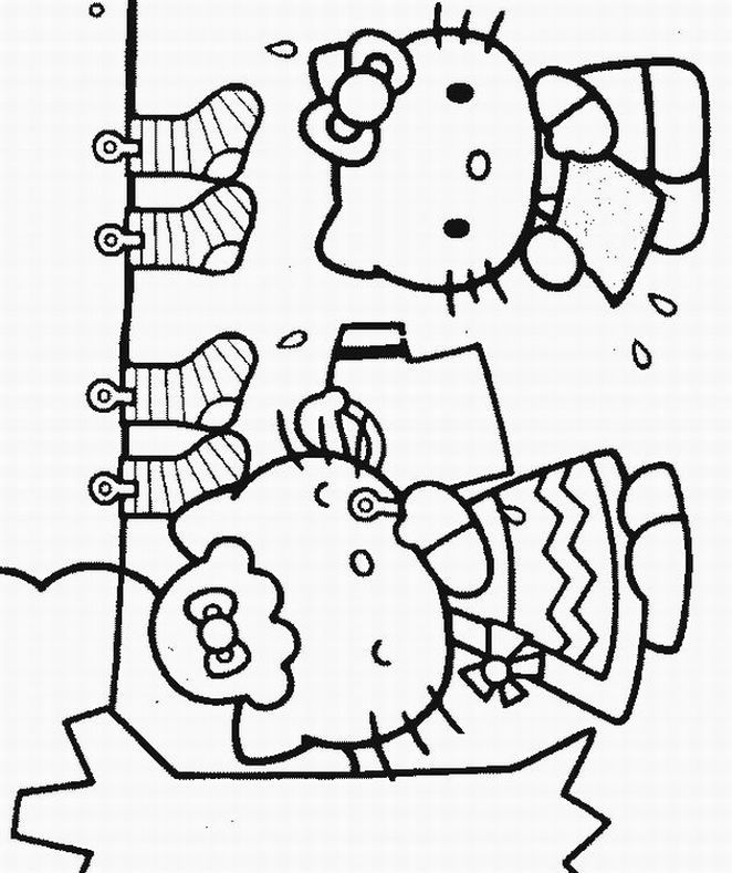 Printable Free Hello Kitty Coloring Sheets For Kids To Enjoy The Fun Of And Learning While Sitting At Home