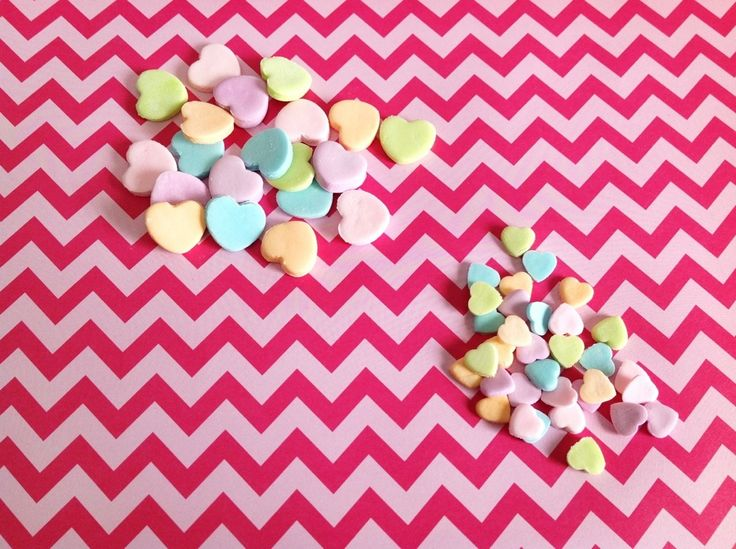 Homemade Conversation Hearts | Things my Sister has done | Pinterest
