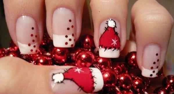 30 Insuperables diseños navideños para tus uñas