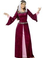 The Fancy Dress Experience (Leeds)  Maid Marion Burgundy: I own this already in Medium if anyone wants it!!