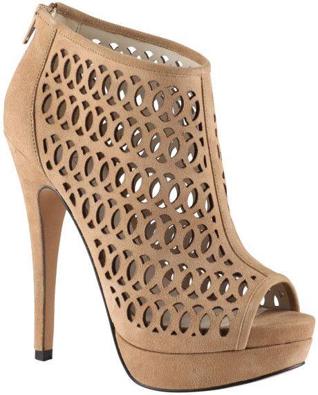Love this:Aldo  Fulginiti Laser Cut Peep Toe Court Shoes