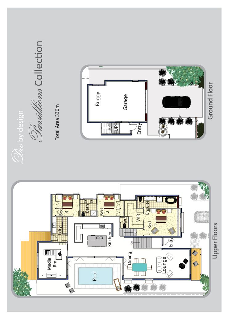 Best Courtyard Home Floor Plans Images On