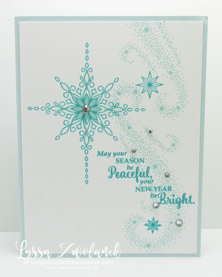 Star of Wonder, Star of Light Christmas cards - Song of My Heart Stampers