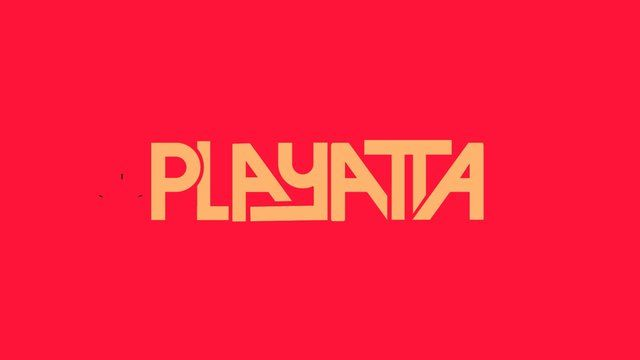 Playatta's #logo #animation #design