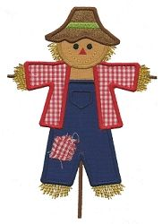 Scarecrow Applique - 3 Sizes! | Fall | Machine Embroidery Designs | SWAKembroidery.com Applique for Kids