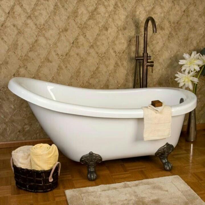 55 Best Bathtub Images On Pinterest Bathroom Half Bathrooms And Soaking Tubs