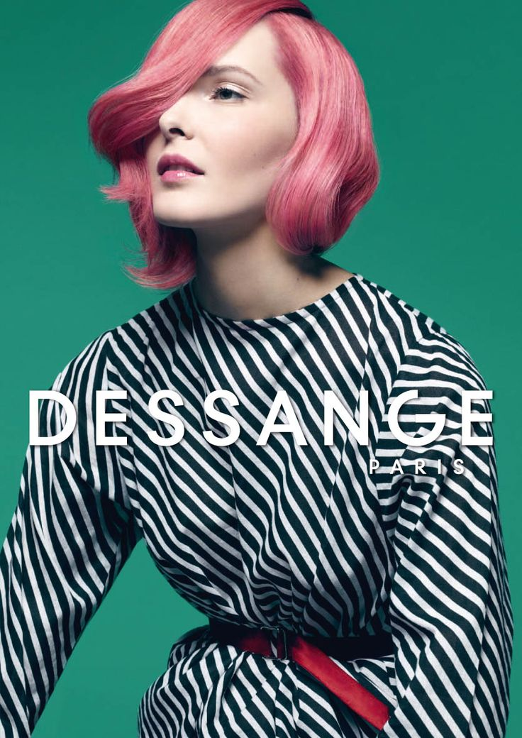 Sophisticated fashion: How can you give an edge to a classic glamorous bob? With Natural Pigma Color Optimizer Shampoo in Rose Blond, color becomes a source of creativity. A mixture of styles achieved with precision and elegance. (Photo Nicolas Valois) #dessange #springsummer2015