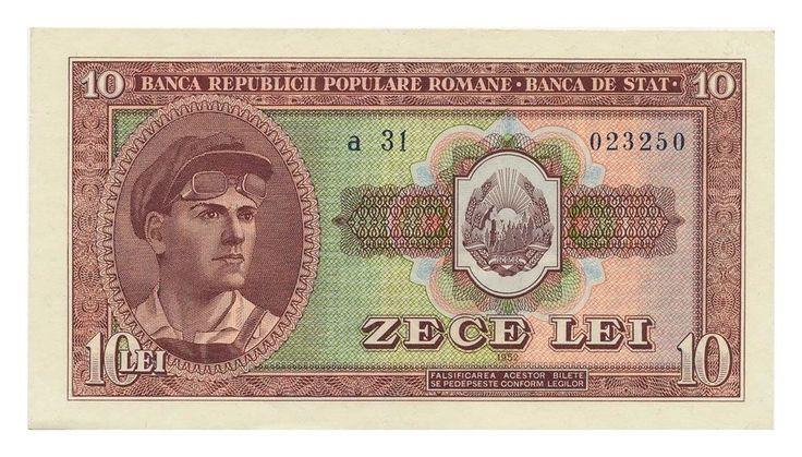 ROMANIA banknote 10 LEI 1952. | eBay