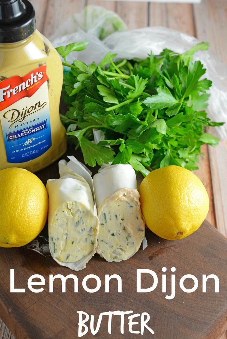 Lemon Dijon Butter- a zesty way to bring life to your butter! Use on vegetables, bread or even top a grilled steak or…