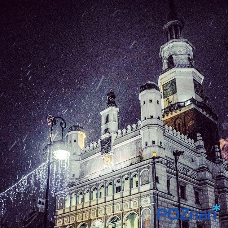 Styczniowy wieczór na Starym Rynku [fot. I. Rosiak]