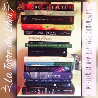 Atelier di una Lettrice Compulsiva: Book Tag: La torre dei libri