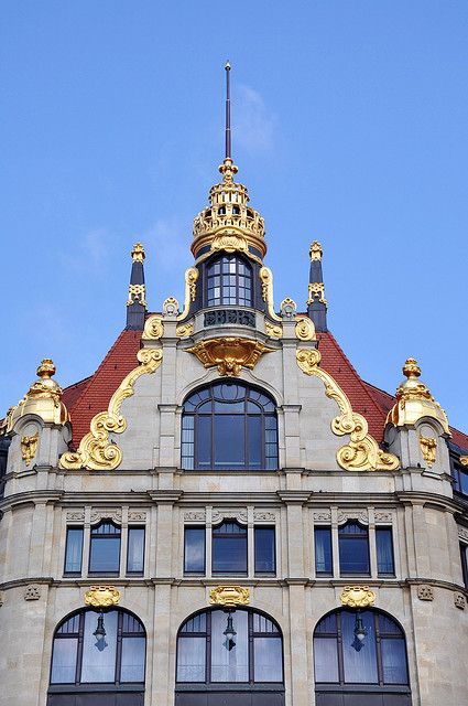 Architecture - Leipzig - Market square - Germany| Flickr: Intercambio de fotos by jaime.silva