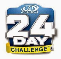 Becoming Healthier with Sherrie: 24-day Advocare Challenge