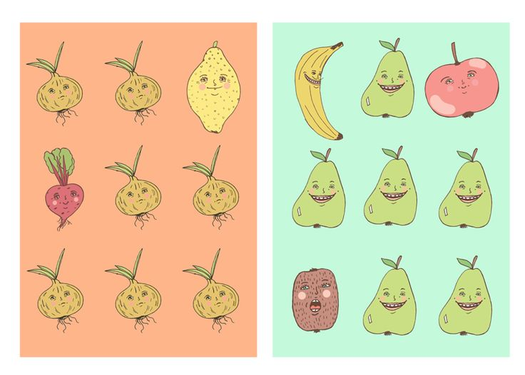fruit posters :)
