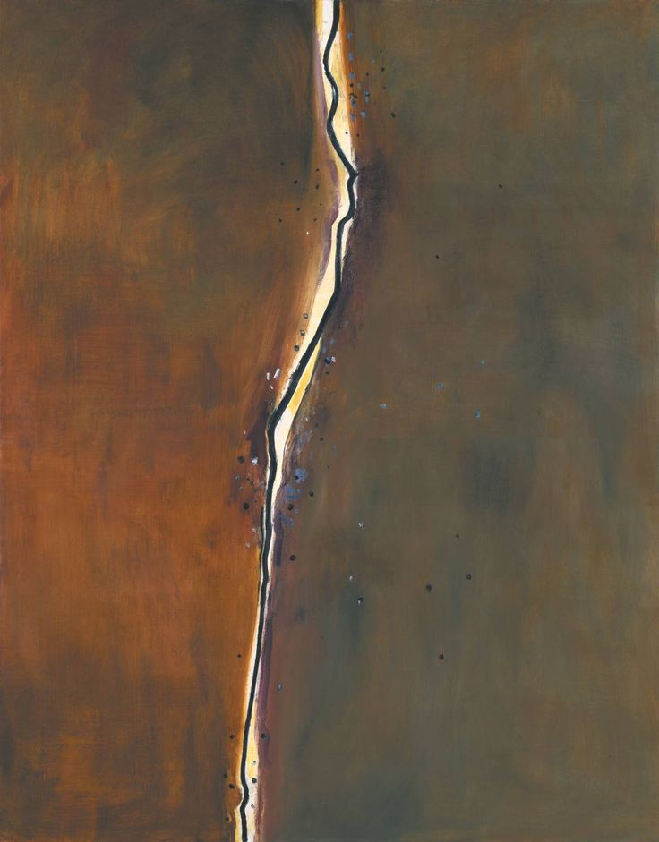 'Riverbed D' (1981) by Fred Williams
