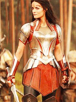Sif's armour is mother effing gorgeous!