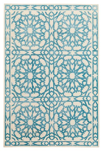 The Rug Company - MAMOUNIA SKY by Lawrence-Bullard. Tibeten Wool and Silk. TO DIE FOR!MUST HAVE!