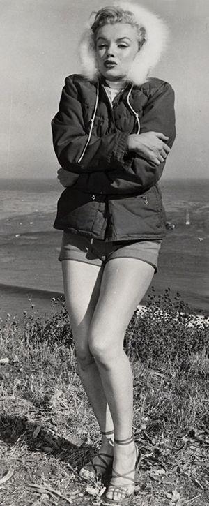 Marilyn at Paradise Cove, 1950. Photo by J.R Eyerman.