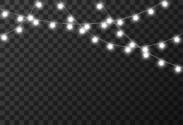 Christmas Lights Isolated On Transparent Background Overlays Picsart Adobe Lightroom Photo Editing Transparent Background