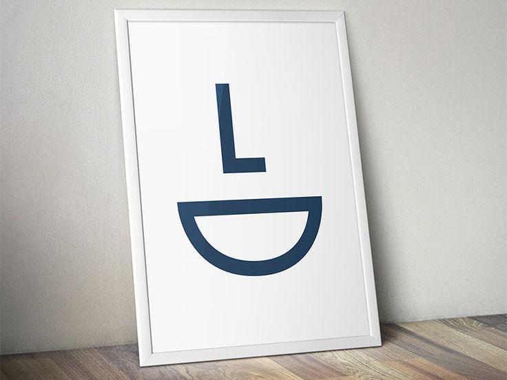 Luiz Dantas - Dentist logo by Gustavo Correa